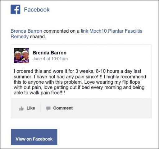 Brenda Baron Facebook Comment