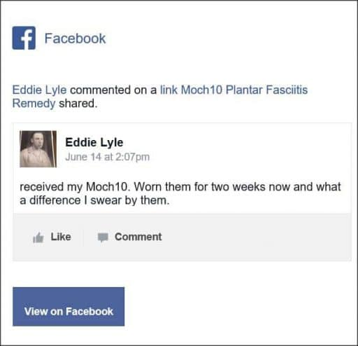 Eddie Lyle, Facebook Comment