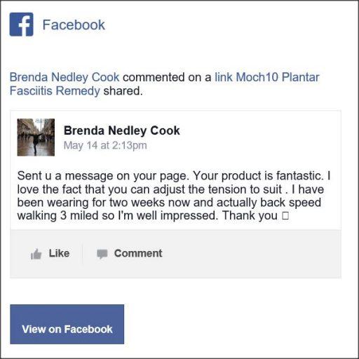 Brenda Nedley Cook, Facebook Comment