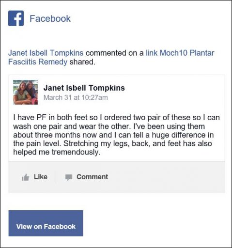 Janet Isbell Tompkins, Facebook Comment