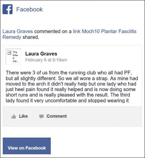 Laura Graves, Facebook comment.