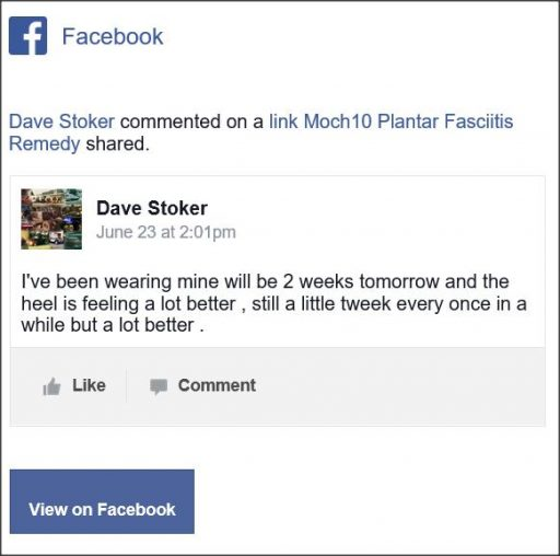 Dave Stoker, Facebook comment.
