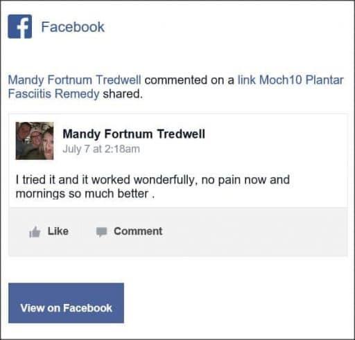 Mandy Fortnum Tredwell, Facebook comment.